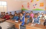 Northern Syria region sees high rates of school attendance