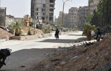 Pasdaran hebûna xwe li Xûtaya Sûrîyayê berfireh dike