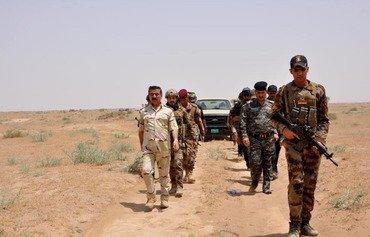 القوات العراقية تبدأ حملة جديدة ضد داعش بالشرقاط