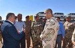 ساخت منطقه صنعتی در امتداد مرز از سوی عراق و اردن