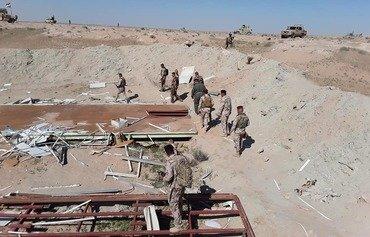 'Opérations du dernier avertissement' ciblant les éléments restants de l'EIIS dans le désert de l'Anbar