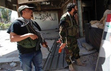 Pro-regime militias clash in eastern Aleppo city