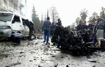Child among casualties of Idlib city centre blast