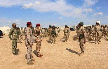 ثلاثة آلاف من مقاتلي العشائر بالأنبار يكملون تدريبات قتالية