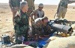 عراق پس از عقب نشینی نیروهای دموکراتیک سوریه از هجین سوریه امنیت مرز را تشدید کرد
