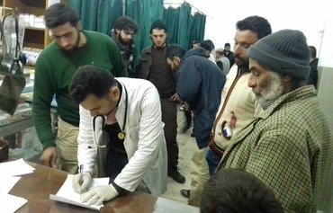 تعلیق حمایت از بیمارستان بزرگ ادلب