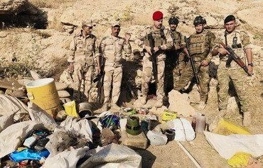 Iraqi forces destroy large ISIS food cache in Anbar