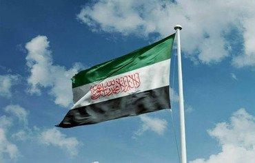 علم هيئة تحرير الشام الجديد يلاقى بالرفض