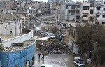 سوريا تبدأ عمليات الهدم في أحد أحياء دمشق