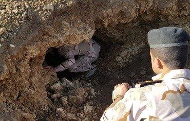 القوات العراقية تستهدف داعش في جبال بادوش