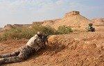 قيادة العمليات المشتركة: صحراء غرب الأنبار مؤمنة ضد فلول داعش