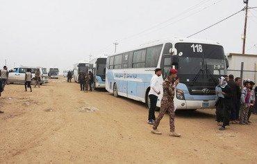 عراق اردوگاه آوارگان کیلو 18 در رمادی را تعطیل می کند