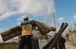 آتش توپخانه رژیم موجب آوارگی در ادلب شد