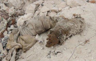 موصل آخرین تلاش ها را برای پاکسازی اجساد داعش انجام می دهد