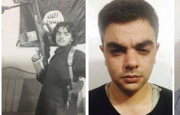 عناصر من داعش معتقلون في سوريا يواجهون القضاء في العراق
