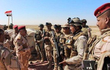 نشاط عسكري مكثف للقوات العراقية على الحدود مع سوريا