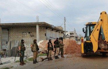 هيئة تحرير الشام تسيطر على ريف حلب الغربي