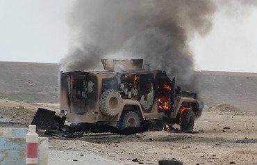 کاروانێکی دژ به داعش هێرشی دەکرێتەسەر لە باکوری خۆرهەڵاتی حەسەکە