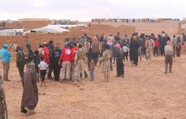 Une nouvelle aide pour le camp de réfugiés syriens d'al-Rukban