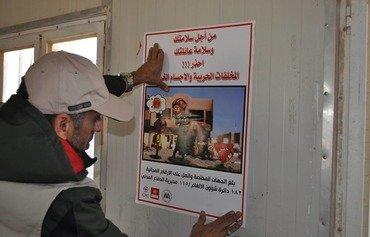 به عراقی ها تأکید شد تا درمورد مینهای نصب شده داعش محتاط باشند