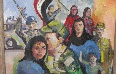فنانون عراقيون يوثقون المعاناة والأمل في الموصل