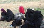 Des centaines de civils quittent le dernier fief de l'EIIS