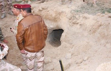 Iraqi forces destroy network of ISIS tunnels that cross into Syria
