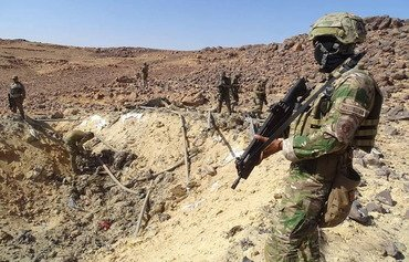القوات العراقية تلاحق فلول داعش في وادي حوران