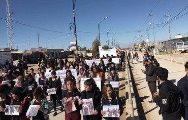 Les Irakiens demandent une enquête sur un charnier syrien