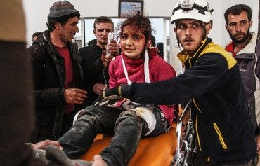 قلق في حلب بسبب قصف مكثف للنظام