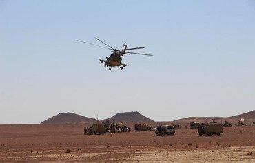 مقتل 4 مقاتلين من داعش في غارة جوية جنوب الرطبة