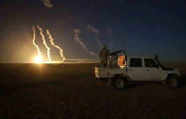 جیش مغاویر الثوره در تعقیب نیروهای داعش که از الباغوز گریخته اند