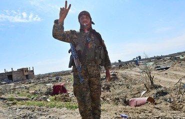 نیروهای دموکراتیک سوریه «شکست ۱۰۰ درصد منطقه ای داعش» را اعلام کرد