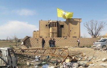أهالي الباغوز فرحون بطرد داعش من منطقتهم