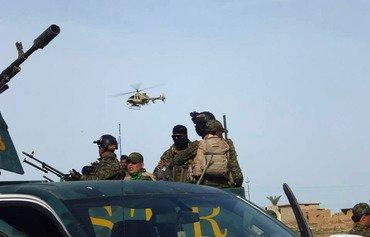 La coalition détruit un repaire de l'EIIS dans les montagnes de Makhoul