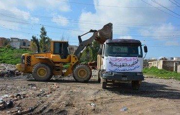 حملة كبيرة لتنظيف الموصل