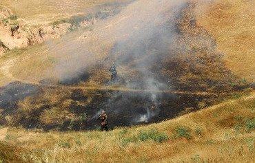 مقتل 'الوالي الأمنيʻ لداعش في تلال حمرين