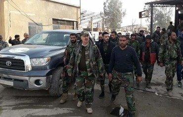 الجيش السوري يضم إلى صفوفه الميليشيات التابعة للحرس الثوري الإيراني