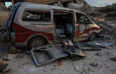غارات جوية روسية وسورية تضرب المدن الشمالية