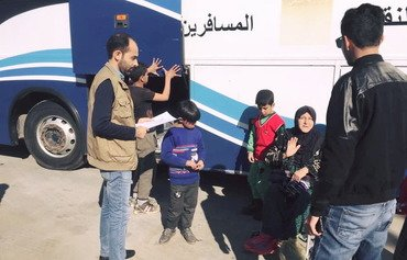 Iraq repatriates citizens from Syria's Akda camp