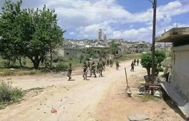 Syrian regime advances in Hama countryside