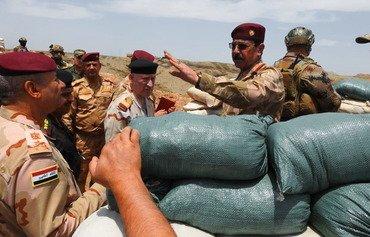 القوات العراقية تحبط محاولة لداعش لتهريب البنزين في صلاح الدين