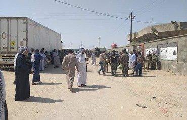 Le CGRI ouvre de nouveaux postes frontière entre l'Irak et la Syrie