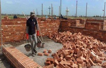 أعمال إعادة الأعمار ما بعد داعش تحرز تقدما سريعا في الحويجة
