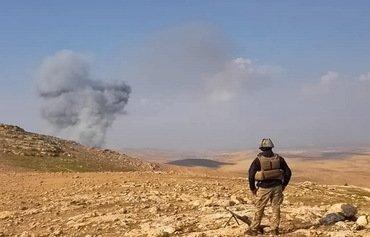 16 چەکداری داعش دەکوژرێن لە هێرشێکی ئاسمانی هاوپەیماناندا لە باشوری نەینەوا