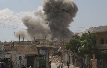 حملات سوریه و روسیه منجر به کشتن غیرنظامیان در ادلب و حما گردید