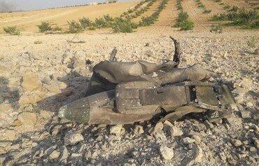 إسقاط طائرة حربية للنظام السوري بالقرب من إدلب