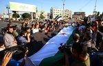 ساکنان خان شیخون علیه ورود رژیم اعتراض می کنند