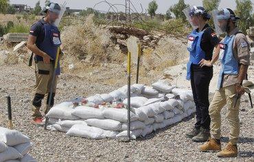 Irak: à Baiji, les mines rendent les fermes mortelles