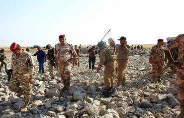 نیروهای عراقی امنیت غرب صلاح الدین در برابر تهدید داعش را تامین می کنند